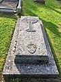 Grave of Timothy Rees, Bishop of Llandaff, in Llandaff Cathedral churchyard, May 2020.jpg
