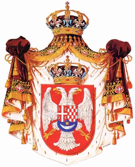 Grb Kraljevine SHS 1918 - 1921