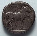 Greece, Macedonia, Amyntas III - Stater- Free Horse (reverse) - 1916.990.b - Cleveland Museum of Art.jpg