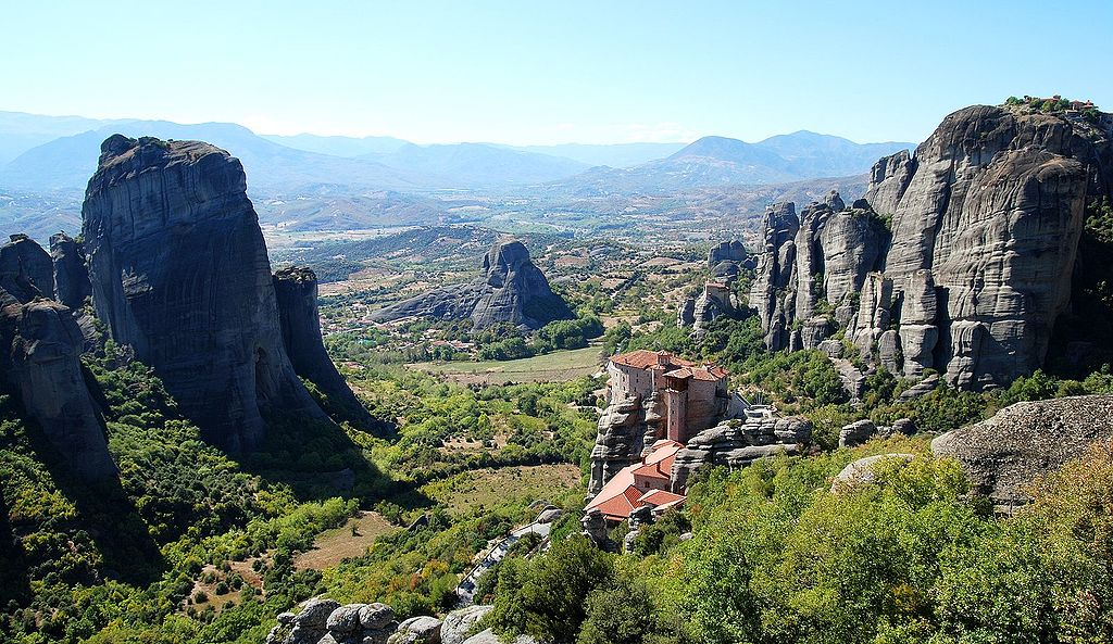 Greece meteora monasteries
