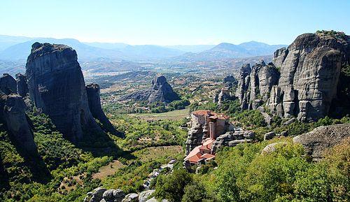 Greece meteora monasteries