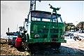 Green Star 28 crane truck in Piaski, Poland 2.jpg