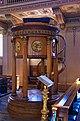 Greenwich - Pulpit in Chapel of Greenwich Hospital.jpg