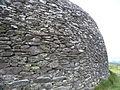 Grianan d'Aileach - détail du mur.JPG