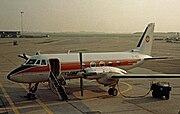 Grumman G159 Gulfstream I OY-BEG Cimber CPH 24.09.81 edited-2