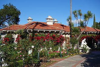 Hearst Castle - Spanish style guest house, designed by Julia Morgan