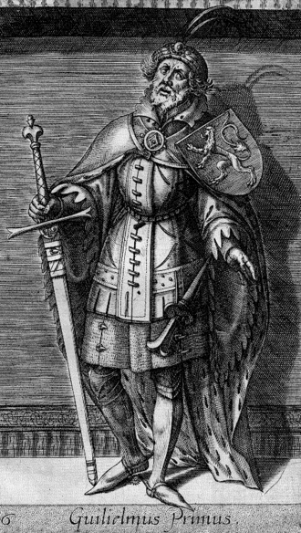 William I, Count of Holland - William I as imagined in the 16th century