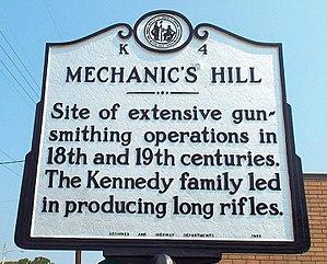 Robbins, North Carolina - Mechanics Hill Historical Marker