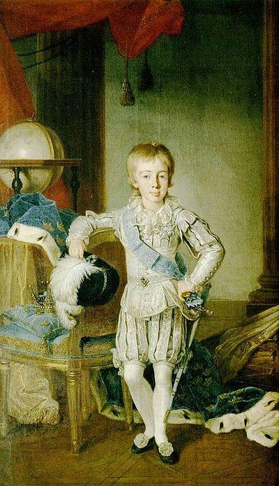 Gustav vid sju års ålder 1785