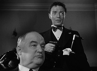 Peter Lorre - Left to right: Sydney Greenstreet and Lorre in The Maltese Falcon (1941), the first of their nine films together