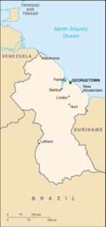 Geography of Guyana