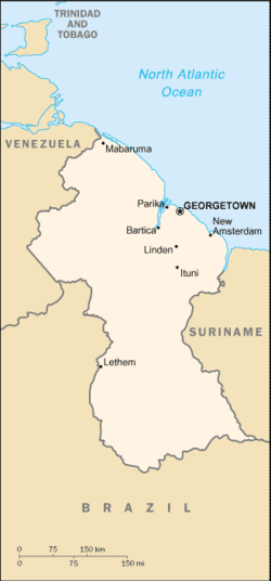 List of cities and towns in Guyana - Wikipedia