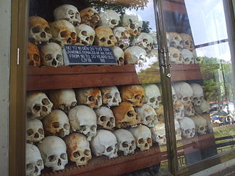 Cambodian–Vietnamese War - Skulls of victims of the Ba Chúc Massacre