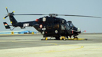 Army Aviation Corps (India) - Image: HAL Rudra at Aero India 2013