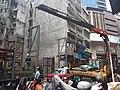 HK 上環 Sheung Wan 蘇杭街 Jervois Street construction site n 起重機 crane August 2018 SSG.jpg