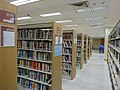 HK 元朗政府合署 Yuen Long Government Offices 公共圖書館 Public Library interior June 2016 DSC 003.jpg