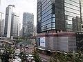 HK 金鐘 Admiralty Centre 夏慤道 Harcourt Road footbridge view January 2020 SS2 01.jpg