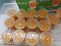HK 香港理工大學 PolyU 紅磡 Hung Hom student canteen iced orange juice plastic cups May 2019 SSG 04.jpg