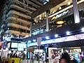 HK Mongkok night Sai Yeung Choi Street South shop Pizza Hut Boardway Oct-2012.JPG