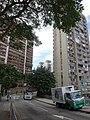 HK North Point Cloud View Road 峰景大廈 Hilltop Mansion n 雲峰大廈 Summit Court trees Nov-2015 DSC.JPG