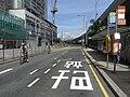 HK Sai Ying Pun Des Voeux Road West Sunday Bike sport riders.JPG
