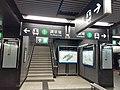 HK WTSD 鑽石山站 Diamond Hill Station platform stairs August 2021 SS2.jpg