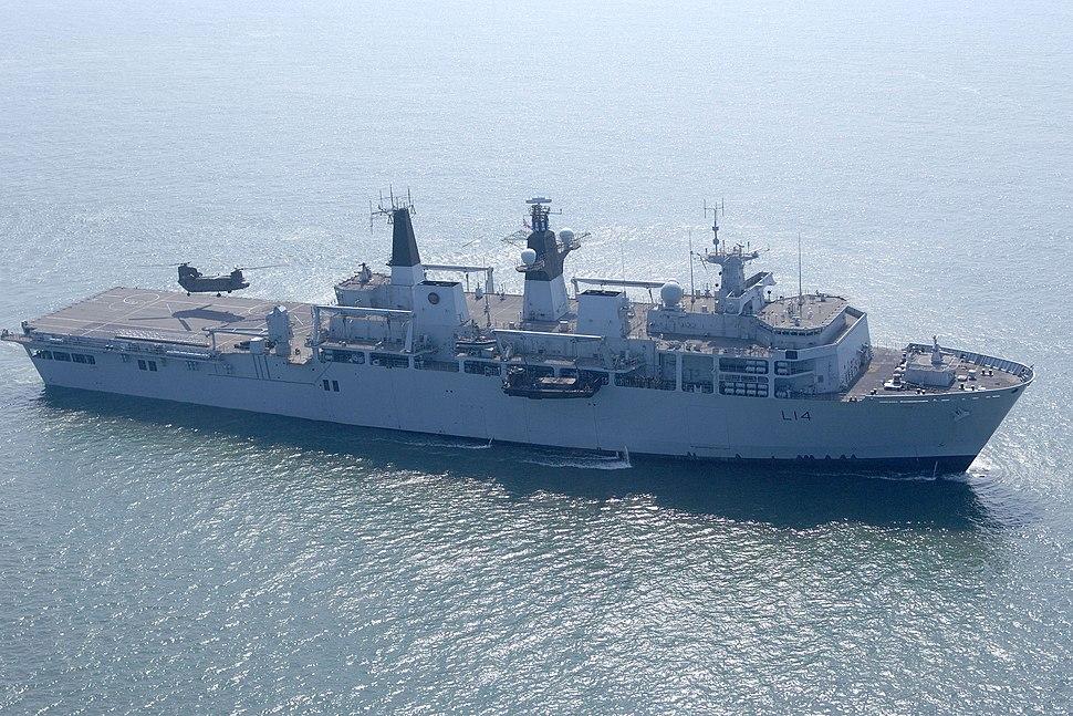 HMS Albion MOD 45151289
