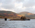HMS Astute Arrives at Faslane for the First Time MOD 45150827.jpg