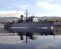 HMS Brocklesby sails from HMNB Clyde for the final time. MOD 45146489.jpg