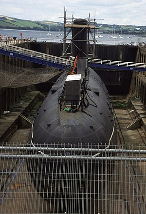 HMS Courageous (S50) - Decommissioned HMS Courageous