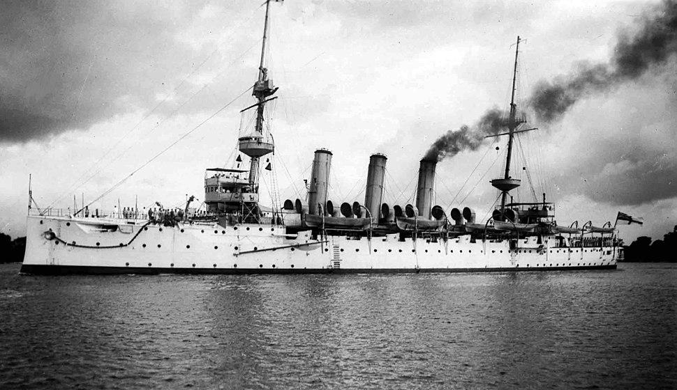 HMS Hermes Dar es Salaam1907-14
