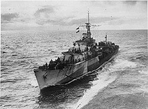 HMS Myngs (R06) - HMS Myngs, c1944