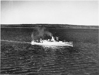 HMCS <i>Thunder</i> (J156) 1941 minesweeper