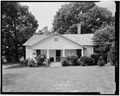 HOUSE, NORTHEAST FRONT - W. Frank Anderson Farm, County Road 239, Ruckersville, Elbert County, GA HABS GA,53-RUCK.V,3-3.tif