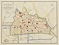 HUA-214032-Plattegrond van de stad Utrecht met directe omgeving met weergave van het stratenplan met nummers ged bebouwing belangrijke gebouwen wegen en watergan.jpg