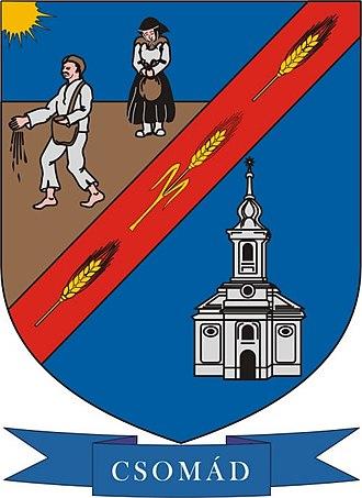 Csomád - Image: HUN Csomád COA