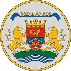 Tiszaújváros - Image: HUN Tiszaújváros COA
