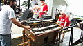Hammond C3 Organ & Hohner Clavinet E7, ready to left, Salem Jazz and Soul Festival 2012.jpg