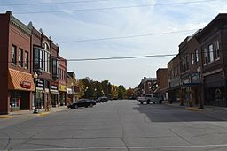 Hampton Double Square Historic District, Hampton, Iowa.JPG