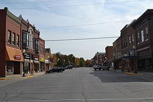 Hampton, Iowa - Image: Hampton Double Square Historic District, Hampton, Iowa