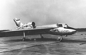 Handley Page HP.115 - HP.115 during trials