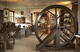 Feuchtwangen - Craftsman's workshop in Feuchtwangen