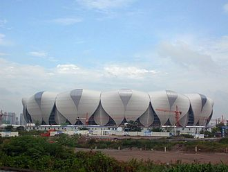 Hangzhou Sports Park Stadium - Image: Hangzhou Olympic Sports Expo Center 05