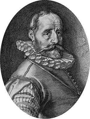 Hans Bol - Hans Bol by Hendrick Goltzius
