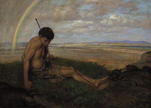 Hans Thoma - Der verlorene Sohn