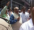 Harbans Kapoor during a Protest.jpg