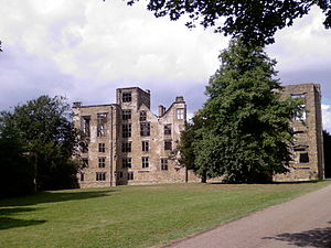 Hardwick Hall - Hardwick Old Hall