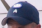 Hat of a US Army Parachute Instructor at the US Army Airborne School.jpg