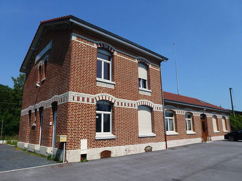 Haulchin (Nord, Fr) ancienne gare