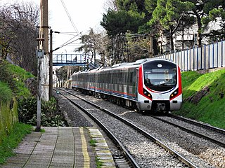 Marmaray rail transport project in Istanbul which consists of the construction of an undersea rail tunnel under the Bosphorus strait